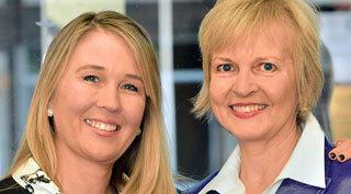 Tiffany Zitzewitz and Paula Hart