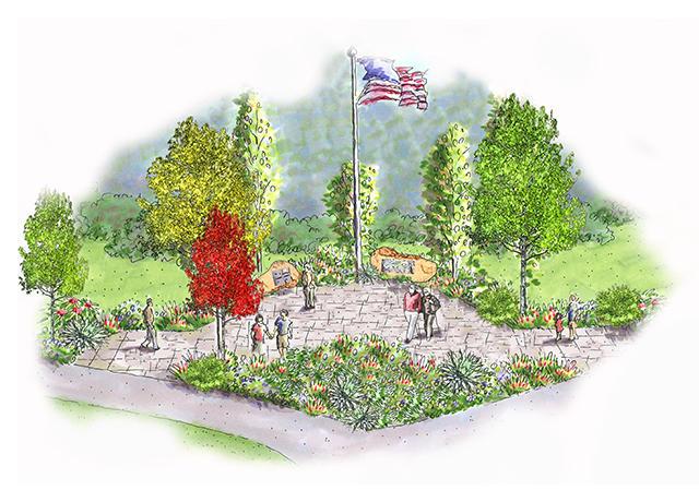 Veterans Honor Garden