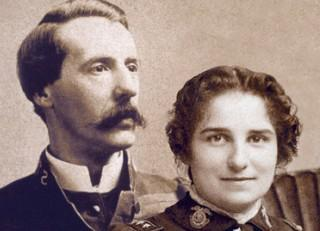 social reformers ballington and maud booth who founded volunteers of america in 1896