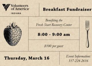 Breakfast Fundraiser for Fresh Start Recovery Center