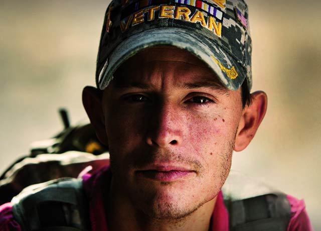 An Iraq War Veteran and Volunteers of America Client