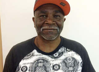 Mr. Mitchell - homeless veteran at Brandon Hall