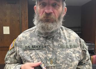 Veteran at Liberty Landing