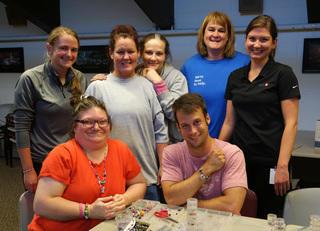 Corporate Volunteer Group at Volunteers of America Indiana