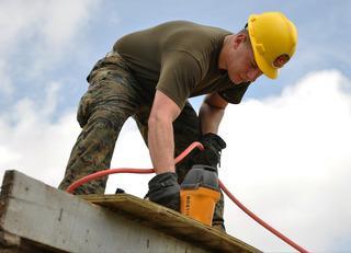 Carpenter Building Roof