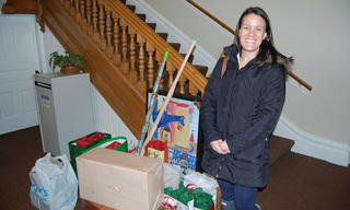Thank you to Meredith and her team at Nationwide Insurance for their donations and for Adopting a Family.