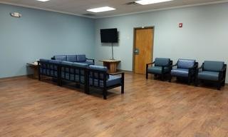 The new Family Housing Common Area.  With new furniture too!
