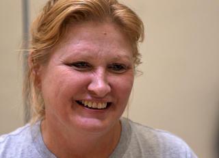 Teresa, female veteran