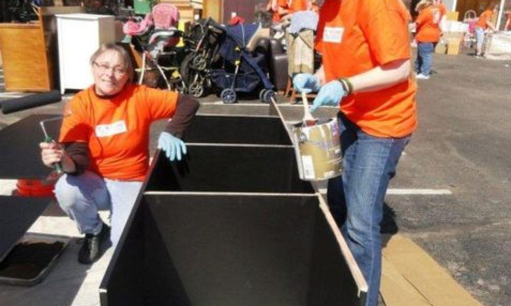 Home Depot Renovates Shelter for Homeless Female Veterans and ...
