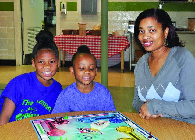 Gloria with Unity House children