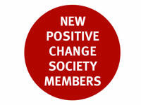 NEW POSITIVE CHANGE SOCIETY MEMBERS