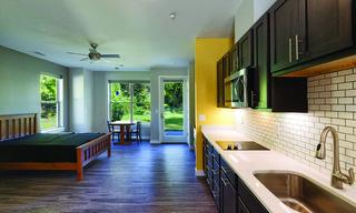 Kitchen & Studio Living Space