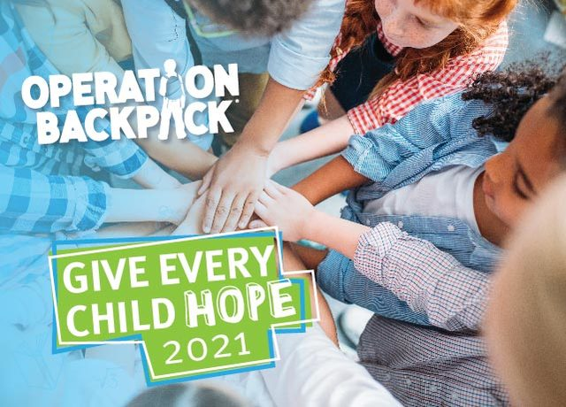 Give Every Child Hope Through Operation Backpack®