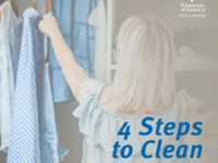 4 Steps to Spring Clean Your Closet