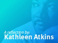 A reflection by Kathleen Atkins