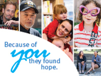 Clients who found hope