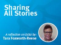 A reflection on DE&I by Tara Foxworth-Reese