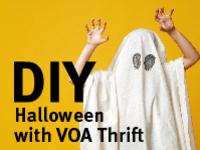 DIY Halloween at VOA Thrift