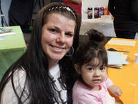 Incarcerated mother with her daughter
