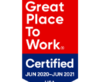 Great Place to Work 2020-2021 logo