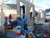 Action Teams working with Habitat for Humanity