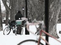 homeless affected by Cleveland winter storms
