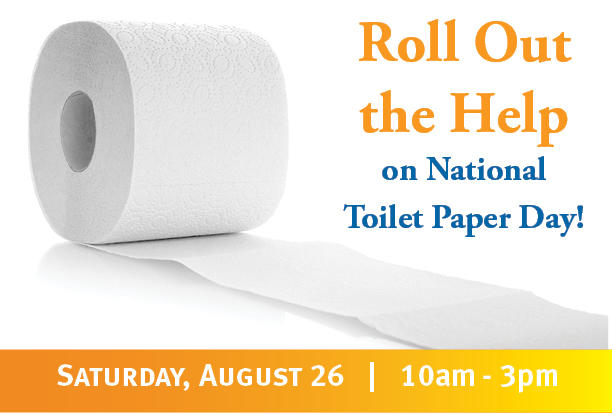 """Crossroads Shelter Hosts """"Roll Out the Help"""" Toilet Paper Drive ..."""