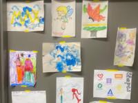 Children's Artwork from the Respite Center
