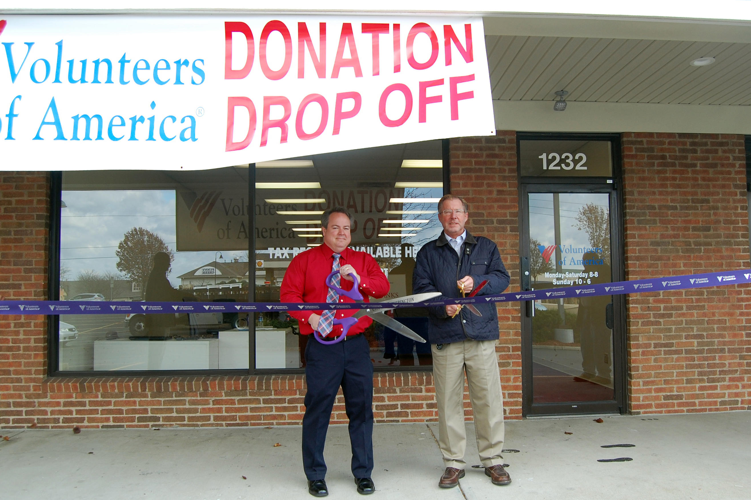 First Volunteers of America Donation Drop-Off Center Opens ...