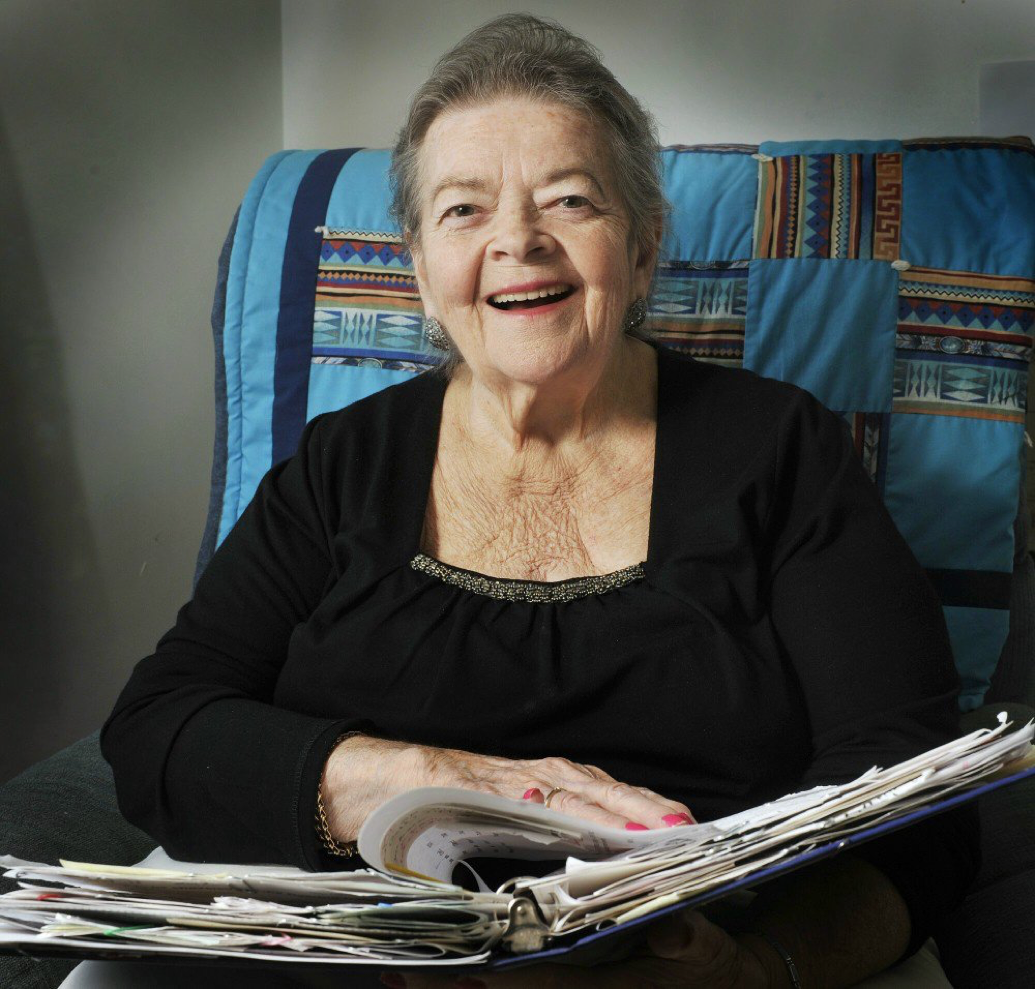 Joan Sheedy, photograph by John Ewing