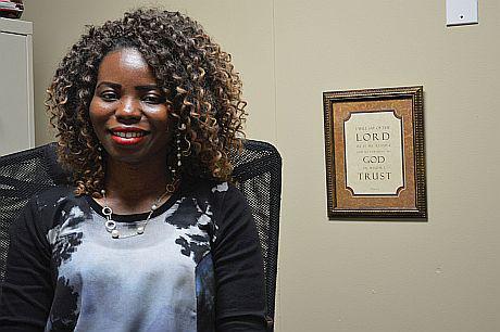 Martha Jackson, part of the Volunteers of America HARA team