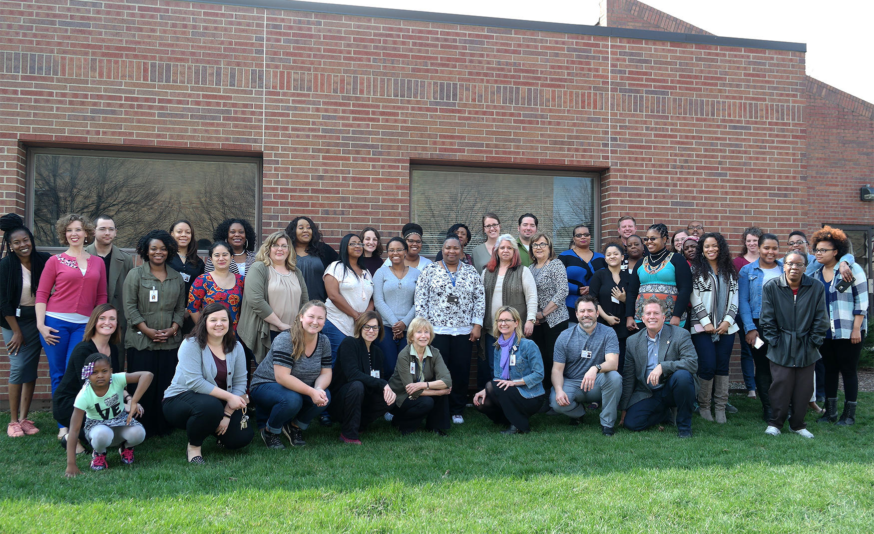 Group photo of Behavioral Health Staff