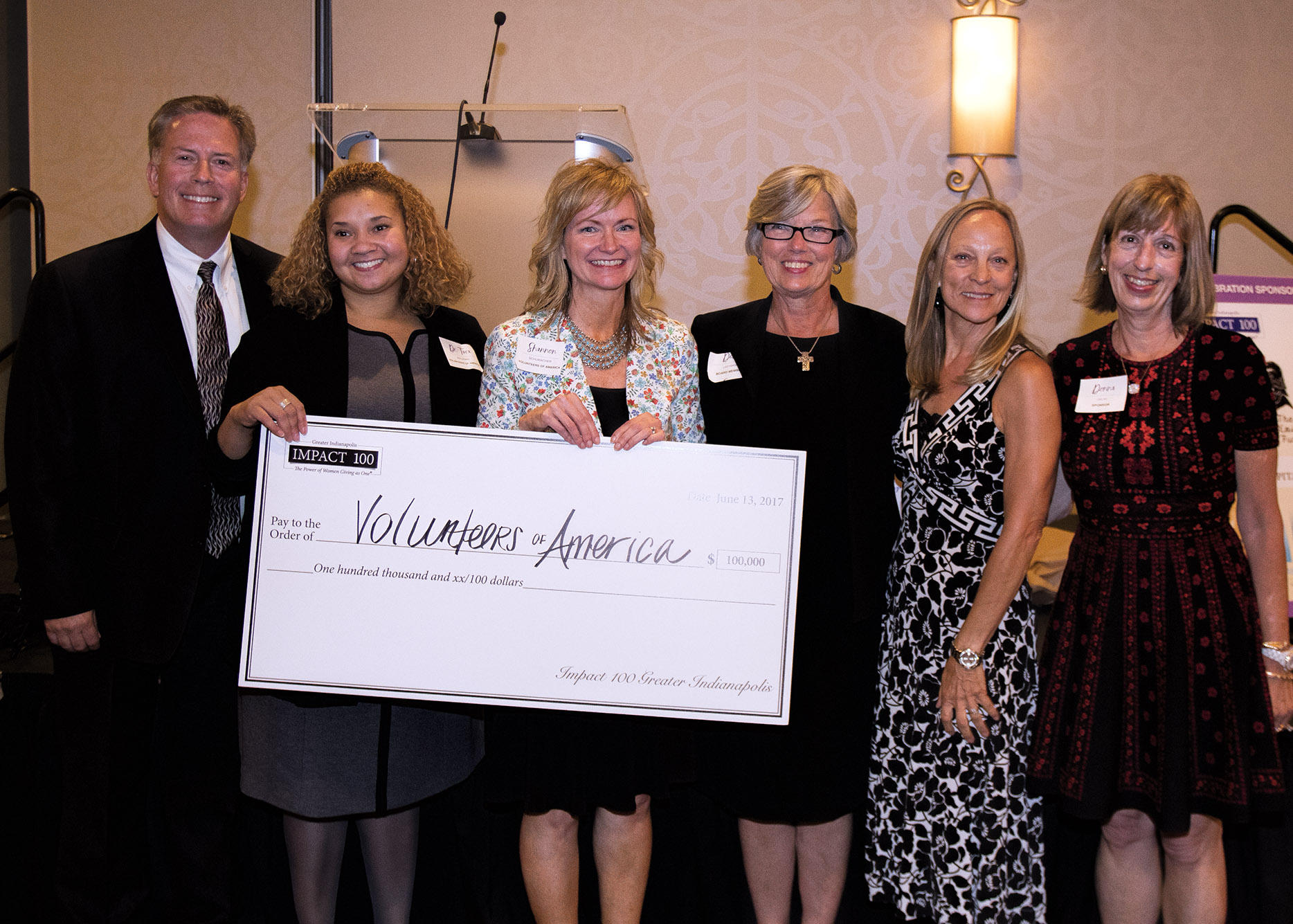 Volunteers of America of Indiana receives $100,000 from Impact 100 Greater Indianapolis