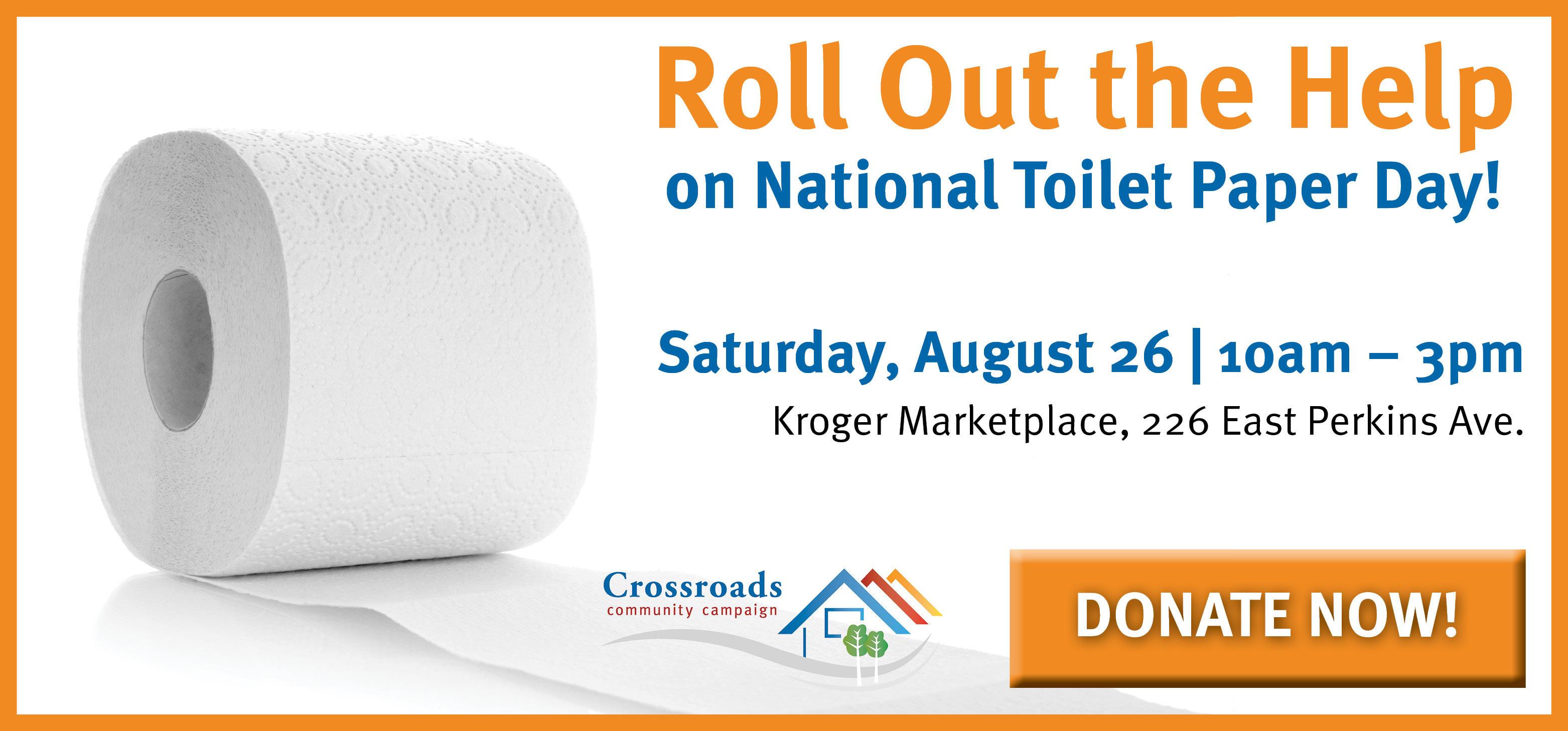 National Toilet Paper Day   Sandusky Ohio