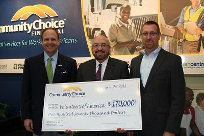 Community Choice Financial Gives $170,000   News Releases ...