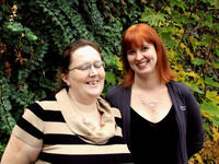 Rachel and Kristi, two participants of the Second Chance Mentoring Program